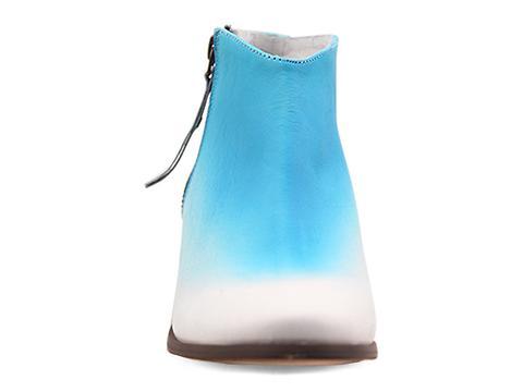 Miista In Turquoise White Ombre Kia
