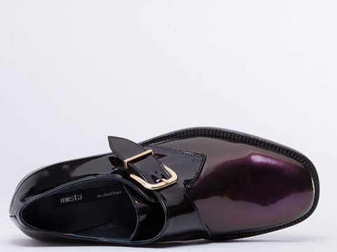 Miista In Black Purple Iridescent Maia