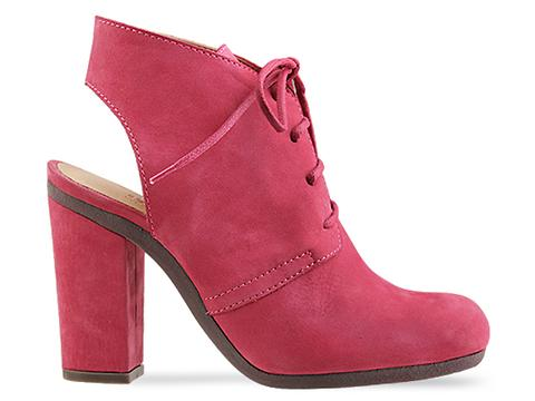 MM6 Maison Martin Margiela In Fuxia Lace Up Bootie