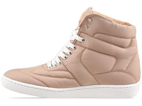 MM6 Maison Martin Margiela In Tan Nylon Sneaker