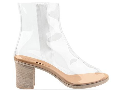 MM6 Maison Martin Margiela In Clear Transparent Boot