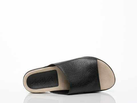 Naya In Black Leather Ursa