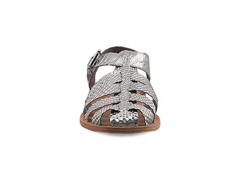 OnSet x Tristan Blair In Silver Teena Sandal