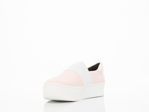 Opening Ceremony In Blush Pink Elastic Slip On Sneaker