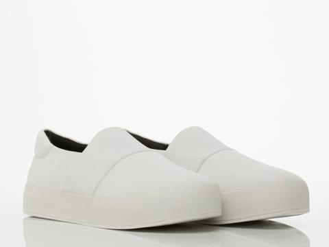 Opening Ceremony In White Elastic Slip On Sneaker Mens