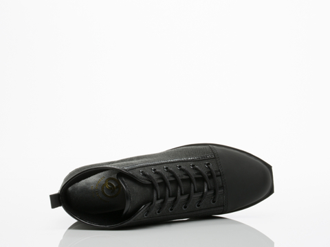 Opening Ceremony In Black Grunge Sneaker