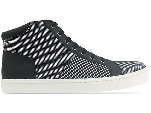 Opening Ceremony In Black White Mesh High Top Sneaker