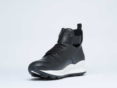 Opening Ceremony In Black High Top Sneaker Womens