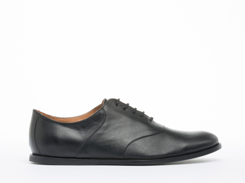 Opening Ceremony In Black Black Leather M2 Oxford Mens