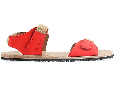 Opening Ceremony In Red Martello Sandal