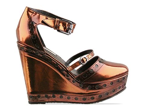 Opening Ceremony In Mirror Leather Copper Olivia