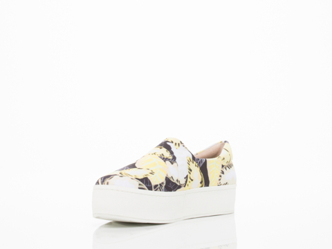 Opening Ceremony In Daisy Yellow Multi Slip On Sneaker