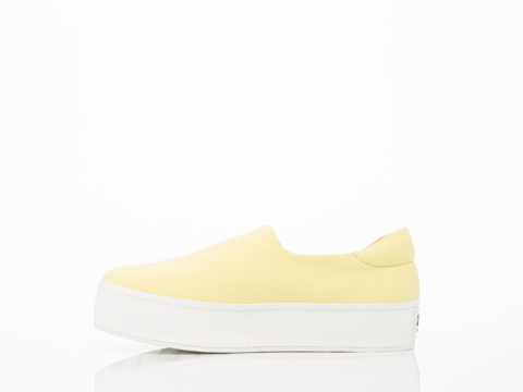 Opening Ceremony In Yellow Slip On Sneaker