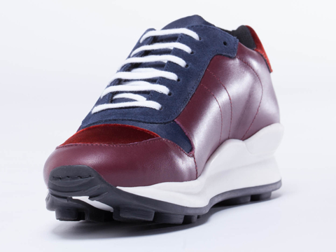 Opening Ceremony In Wine Navy Combo Sneaker
