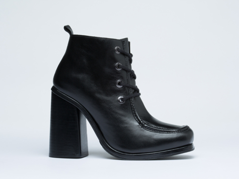 Opening Ceremony In Black Calf Sylvie Clog Bootie