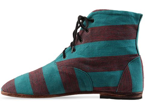 Osborn In Teal Boot