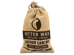 Otter Wax In Brown Leather Care Kit