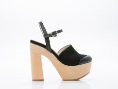 Ouigal In Suede Black Lily