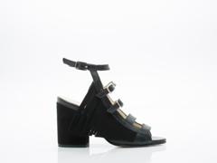 Ouigal In Suede Black Mae
