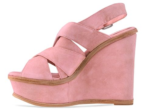 Pencey In Blush Suede Orsino