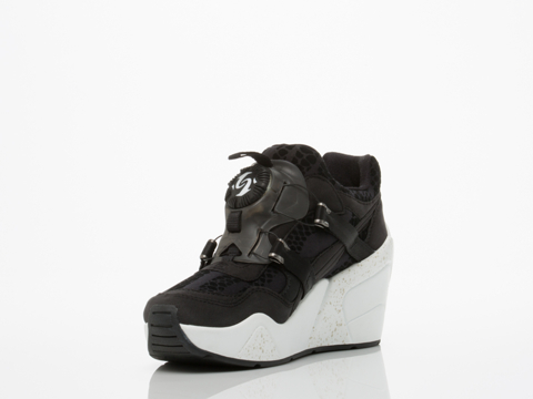 puma disc wedge sneakers