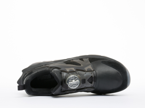 Puma In Black Disc Swift Tech Mens