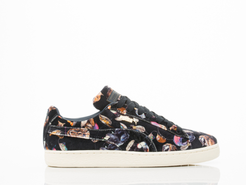 Puma X House Of Hackney In Midnight Basket Classic Lo Mens