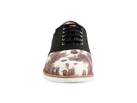 Rachel Antonoff By Bass In Black Flower Matilda