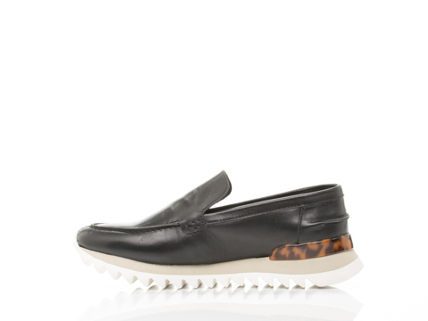 Rachel Comey In Black Polished Leather Loomis
