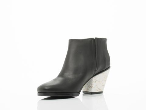 Rachel Comey In Black Leather White Cork Mars