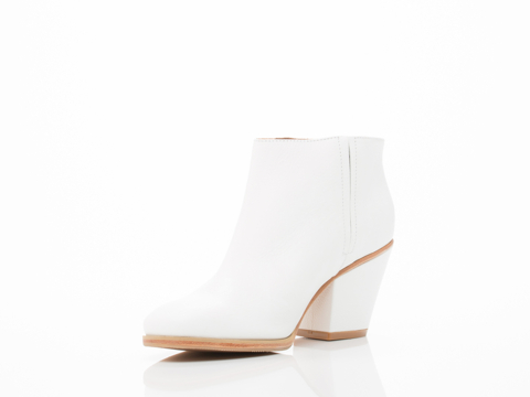 Rachel Comey In White Floater Leather Mars