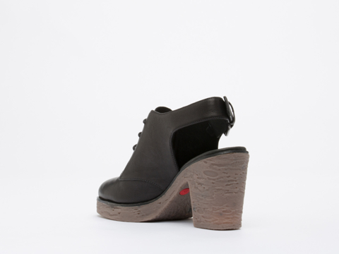 Rachel Comey X Camper In Black Leather Together Rachel Comey
