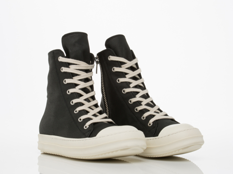 Rick Owens By Drkshdw In Black FW 14 Moody Sneakers