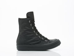 Rick Owens By Drkshdw In Black Black Vegan Sneakers Mens
