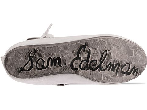 Sam Edelman In White Leather Alexander