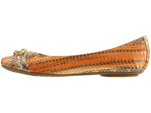 Sam Edelman In Orange Metallic Carmen