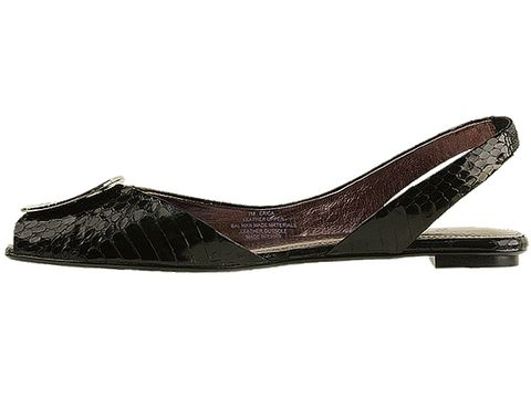 Sam Edelman In Black Shiny Belly Snake Erica