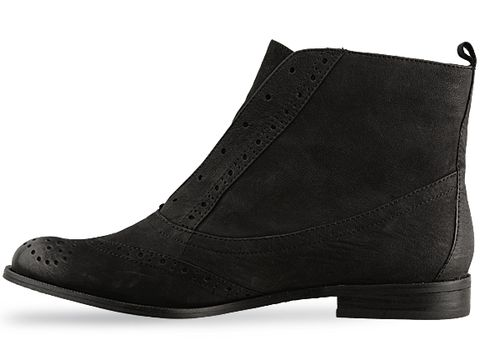 Sam Edelman In Black Nubuck Joss