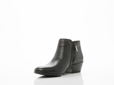 Sam Edelman In Black Leather Petty