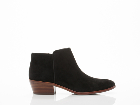 Sam Edelman In Black Suede Petty