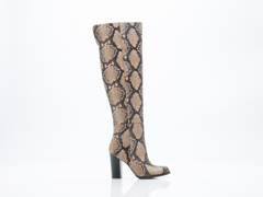 Sam Edelman In Natural Snake Print Leather Rylan