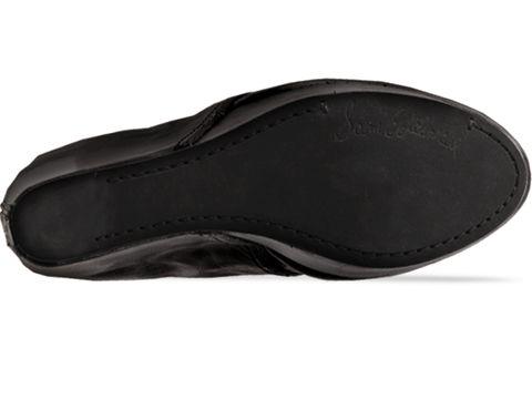 Sam Edelman In Black Leather Valin