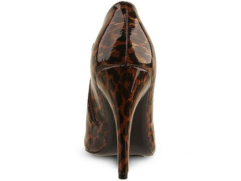 Sam Edelman In Brown Patent Leopard Whitely