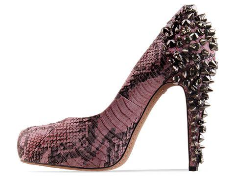 Sam Edelman In Pink Black Python Yuma