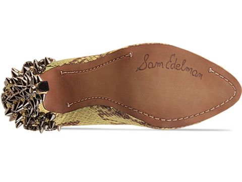 Sam Edelman In Yellow Brown Snake Yuma
