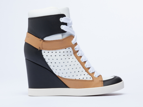 See By Chloe In Black White Tan SB22145