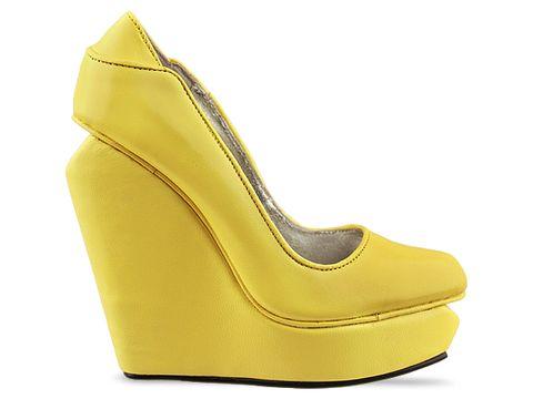 Senso In Yellow Nappa Agnes