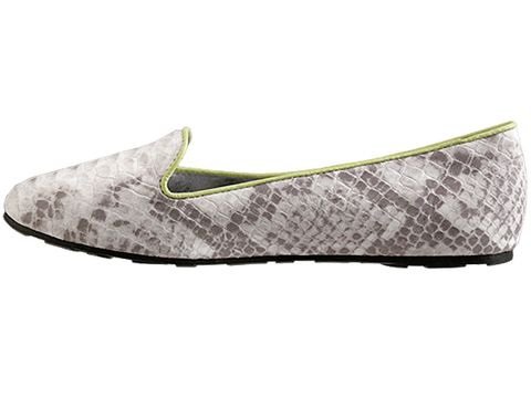 Senso In Grey Snake Yellow Piping Elite
