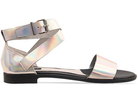 Senso In Silver Lazer Metallic Gina