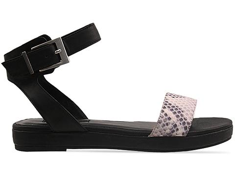 Senso In Grey Printed Snake Black Kid Hannah